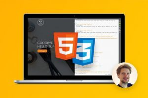 Build Responsive Real World Websites with HTML5 and CSS3 Course Site The easiest way to learn modern web design, HTML5, and CSS3 step-by-step from scratch. Design AND code a huge project.