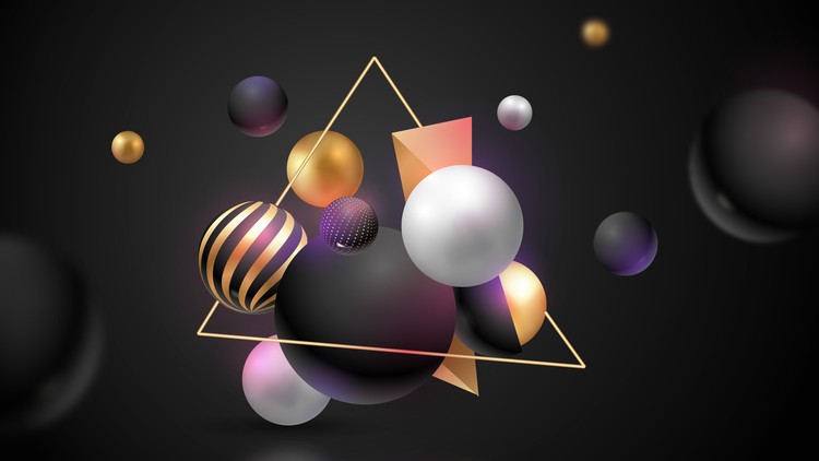 Creating Shapes with Illustrator 2020 + 100+ Vector Shapes Course Let's learn shape creation with Shape Tools and Pen Tool in Illustrator CC 2020 Plus 100+ Editable Vector Shapes