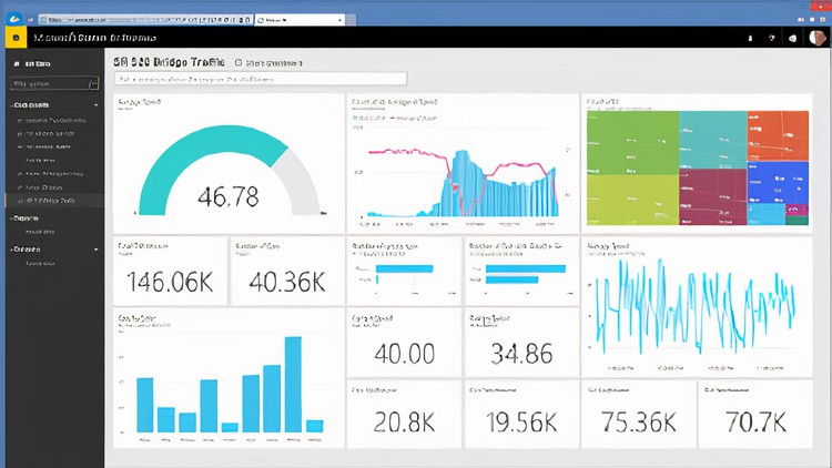 Business Intelligence with Power BI Desktop - Web Courses Master Power BI, Data analysis, Visualization and designing Dashboard