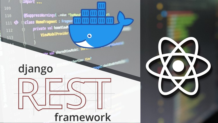 React and Django: A Practical Guide with Docker - Web Courses Django 3.1, React Typescript, Redux, Docker, Authentication and Authorisation, Upload Images, Export CSV Files, c3.js