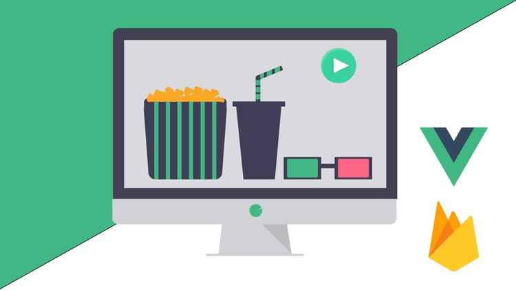 Vue.js: Learning the basics by building a movie web app - Web Courses Learn the basics of Vue by building a simple movie application utilizing Vuex, Vue Router, axios, firebase, and more.