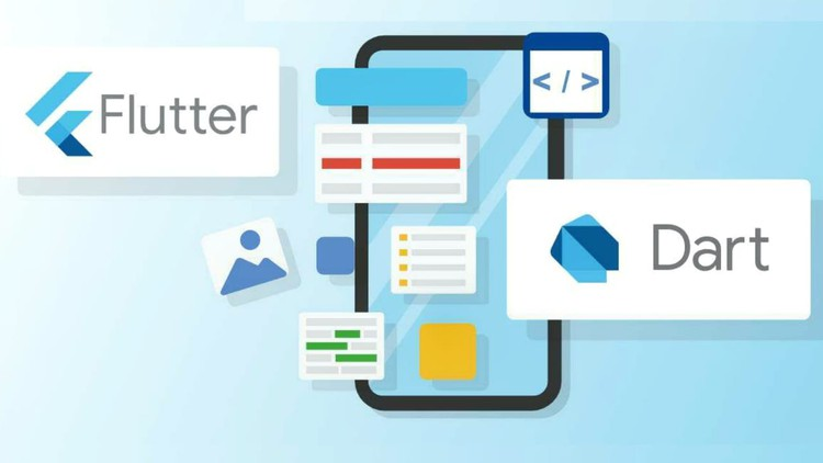Flutter Tutorials - Create Beautiful Flutter Apps And UIs Create Flutter Apps and UIs from Scratch. This Course Also Contains Flutter with Firebase, Github & Payment Integration