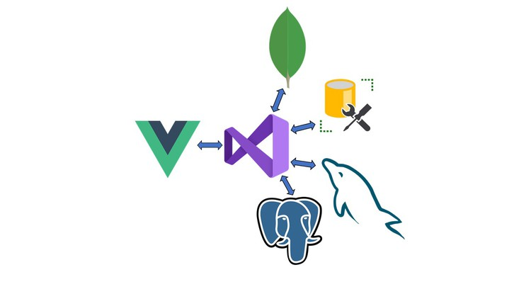 Vue JS and .NET Core Web API Full Stack Master Course learn to create a full stack web application from scratch using .NET Core Web API and Vue JS.