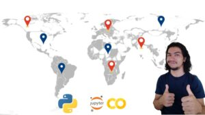 Geospatial data analysis with python Learn how to read, write and visualize the raster/vector dataset and perform spatial analysis using python