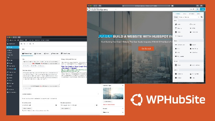 Create A HubSpot-Integrated WPHubSite WordPress Website Everything You Need To Be Successful Creating Your Dream WPHubSite WordPress Website